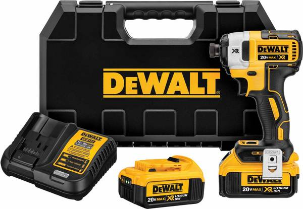 Photo DEWALT 20V MAX XR Brushless Impact Driver and Hammer Drill Combo Kit - $225 (tulsa)