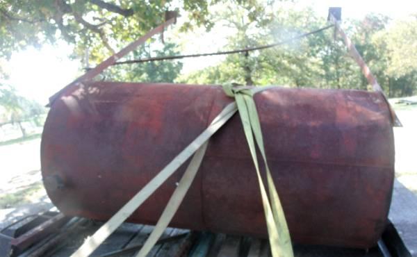 Photo Diesel Fuel Tank - $100 (Kellyville (Heyburn Lake ))