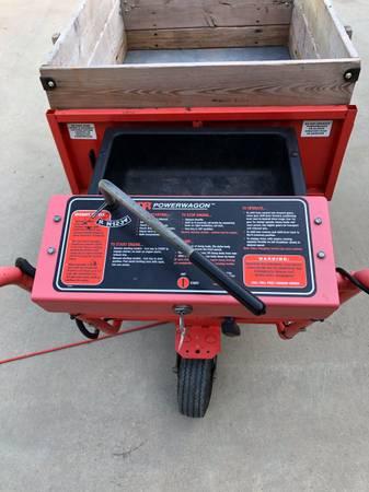 Photo Dr. Power wagon motorized wheel barrel - $900 (Claremore)