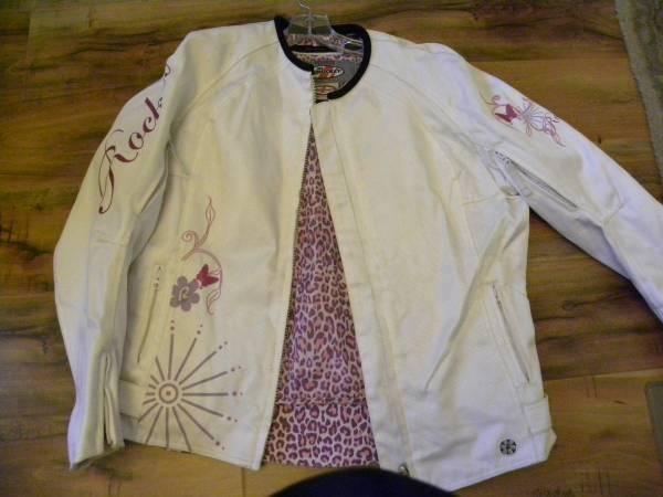 Photo Joe Rocket motorcycle jacket 2 - $25 (West tulsa)