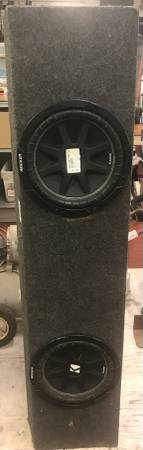 Photo Kicker Competition Car Subs - $150 (West Tulsa)