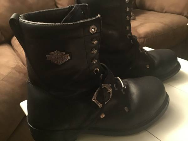 Photo Mens Harley-Davidson Boots - $40 (Tulsa)