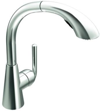 Photo Moen S71709 Ascent One-Handle High Arc Pullout Kitchen Faucet, Chrome - $160 (TULSA)