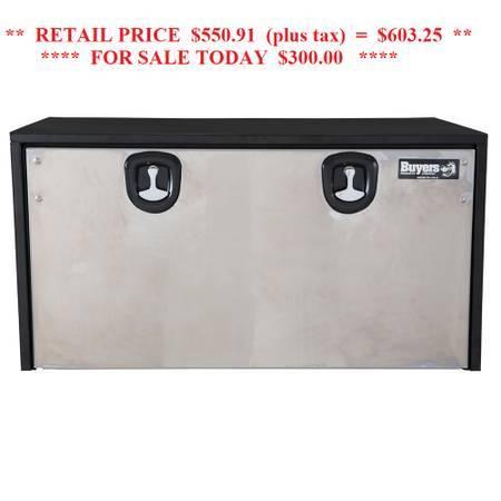 Photo NEW BUYERS UNDER BODY 48quot TRUCK TOOL BOX WORK FLAT BED - $200 (Glenpool)