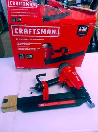 Photo New Craftsman 21 nailer plastic collated framing nailer - $175 (Jk tools)