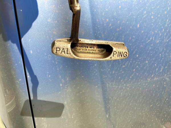 Photo Ping Pal Solid Bronze Golf Putter - $35 (Tulsa)
