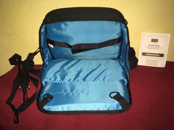 Photo Portable DVD TV player travel case USA gear - $20 (Broken Arrow)
