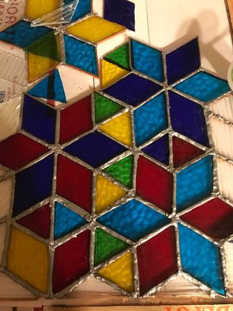 Photo Stained glass supplies - $250 (Sperry)