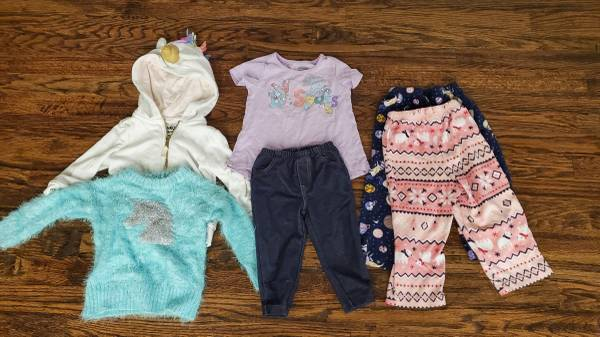 Photo Toddler Girls Clothes 12-18 months Lot 1 - $15 (Broken Arrow)