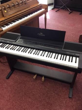 Photo Used Yamaha Clavinova CVP-5 Keyboard digital piano wBench  stand - $450