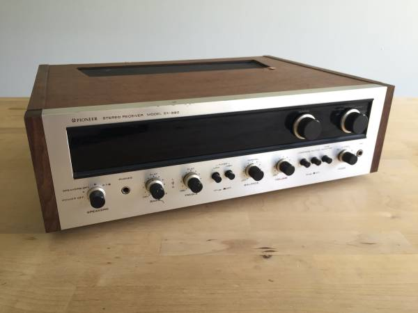 Photo Vintage Pioneer SX-990 Stereo Receiver -- Powers Up -- Untested - $150 (Tulsa)