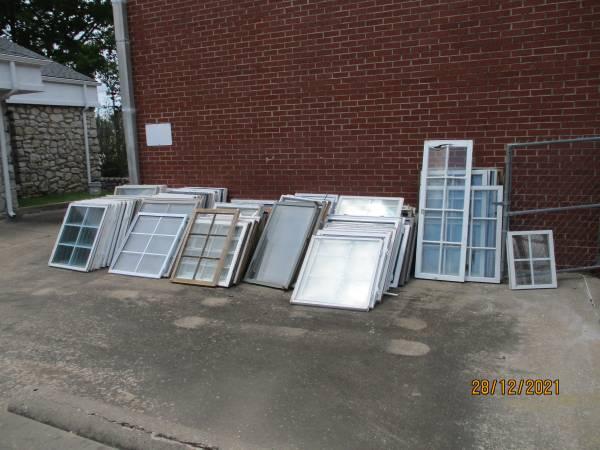 Photo Windows for Greenhouse Construction - $4 (Jenks)