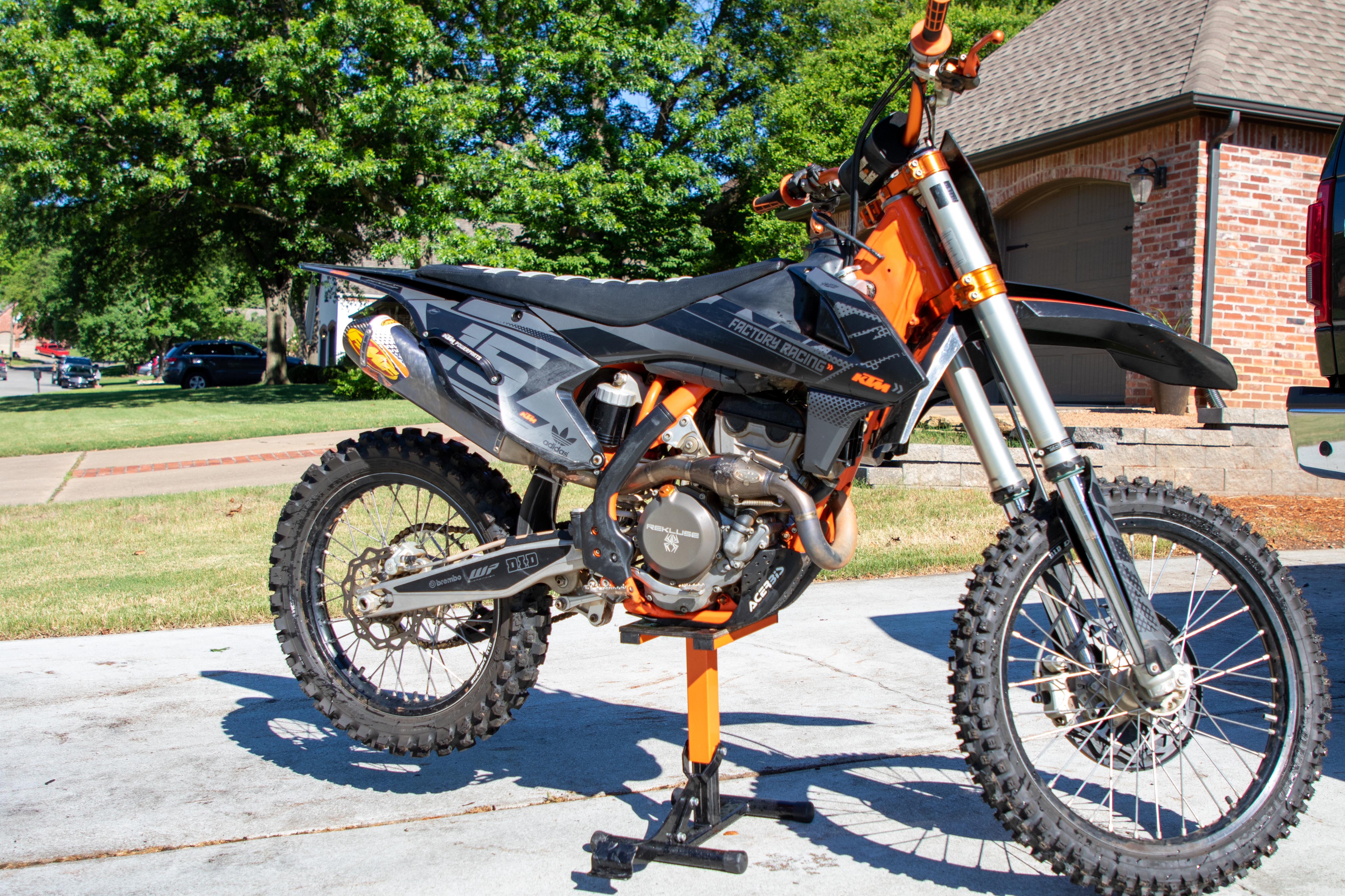 Photo Used 2017 KTM Dirt Bike Motorcycle  $6750