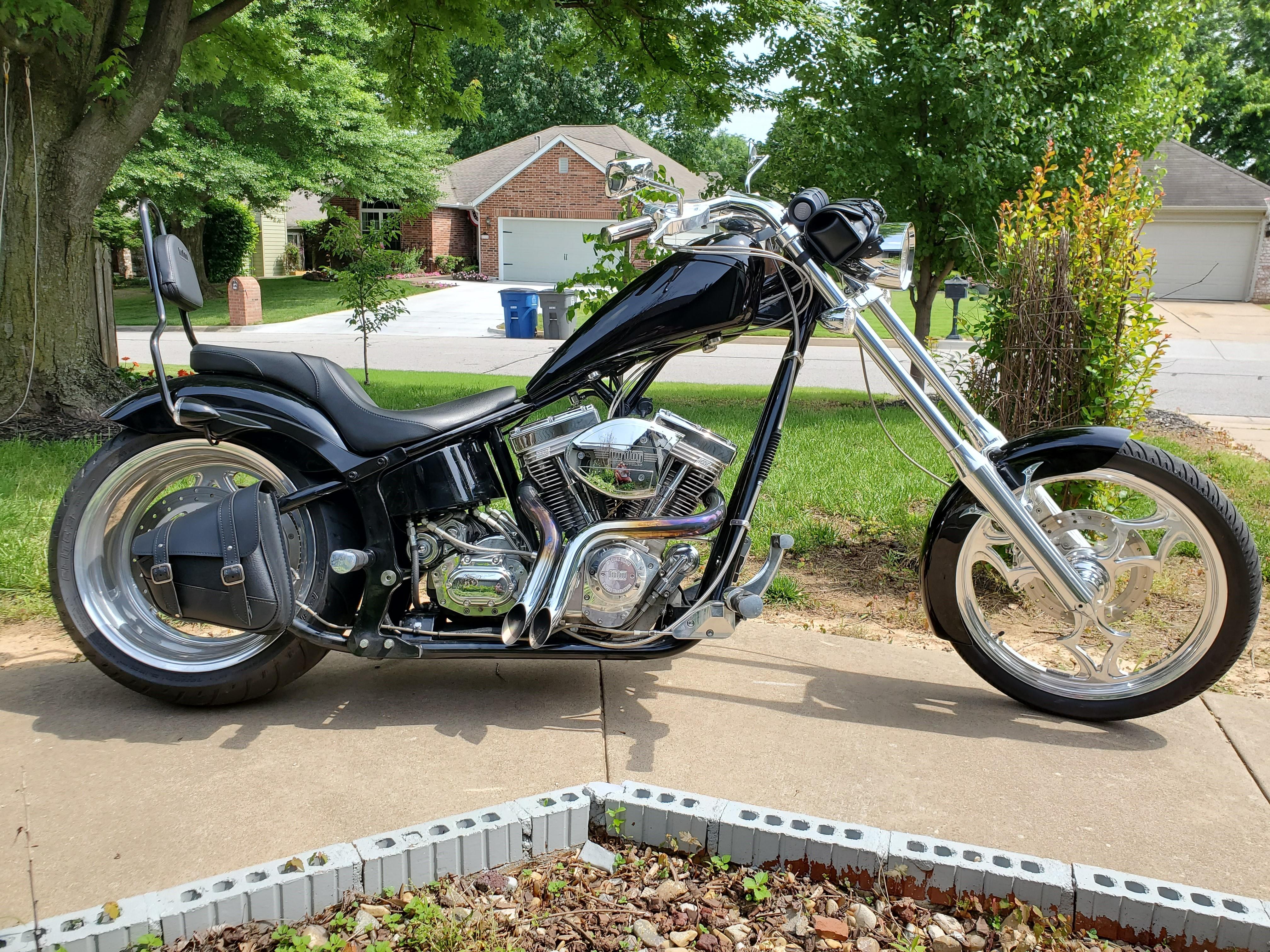 Photo Used 2004 Big Dog Motorcycles Custom Motorcycle  $13500