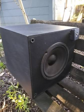 Photo 10 inch Subwoofer sub woofer home stereo speaker 10quot - $20
