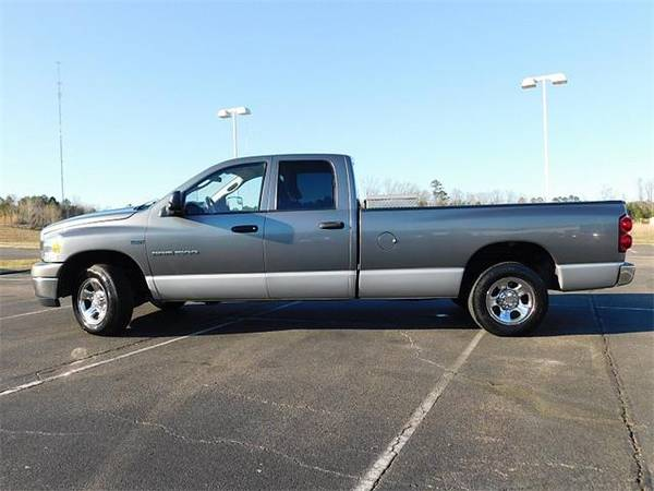 Photo 2007 Dodge Ram 1500 2WD truck Quad Cab SLT Longbed - GRAY (Dodge_ Ram_ 1500_ 2WD_ truck_)