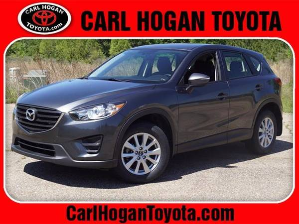 Photo 2016 Mazda CX-5 SUV SPORT - Gray