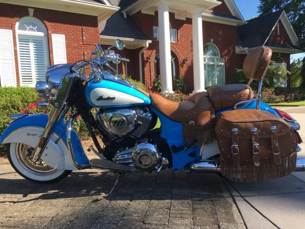 Photo 2018 Indian Chief Vintage - quotMintquot - 2,300 Miles - $16,900 (Cullman, AL)