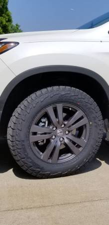 Photo 2019 Honda Ridgeline rims and tires - $900 (Madison)