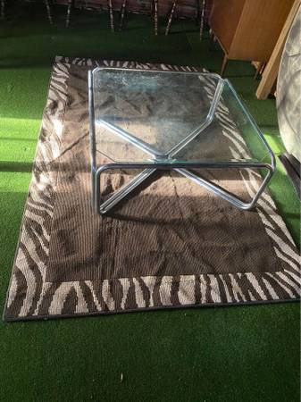 Photo Coffee table and rug - $230 (Northport)
