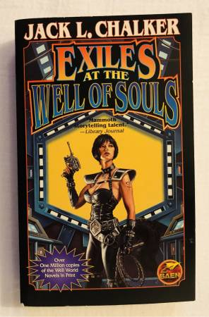Photo EXILES AT THE WELL OF SOULS Science Fiction Paperback Book - $5 (Madison)