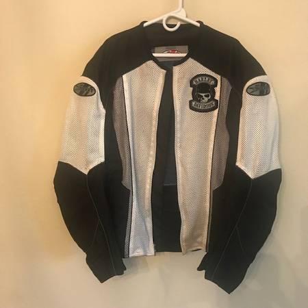 Photo Joe Rocket bw Mesh Motorcycle Jacket w dry liner - Size ML - $30 (North River)