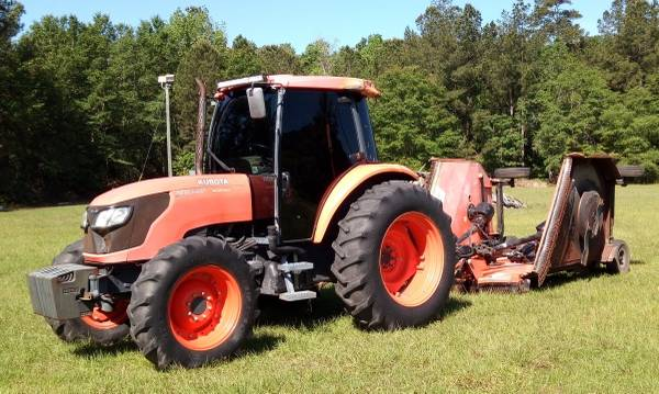 Photo KUBOTA M9540D WITH BATWING MOWER, TRACTOR FOR FARM CONSTRUCTION - $47,500 (VALDOSTA)