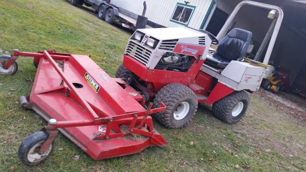 Photo 4100 ventrac with 31 hp gas and 60quot steiner deck - $8700