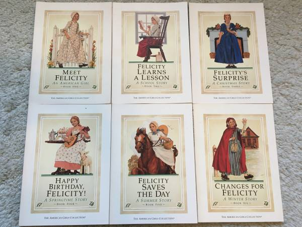 Photo American Girls Collection 6 Book Set - Felicity - $39 (Highland Heights)