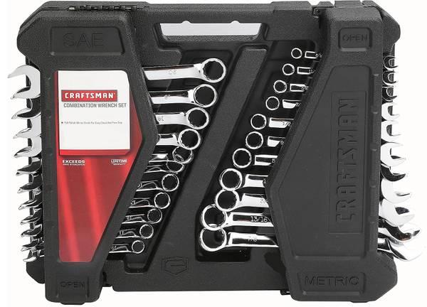 Photo Craftsman 22 Piece Wrench Set - $50 (Akron)