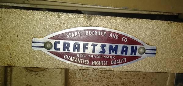 Photo Craftsman Vintage 4quot Jointer Joiner Cast Iron - $120 (Cambridge)
