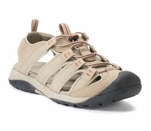 Photo Croft  Barrow Legato Men Ortholite Fisherman Sandal Shoes Tan 10 - $20 (Akron)