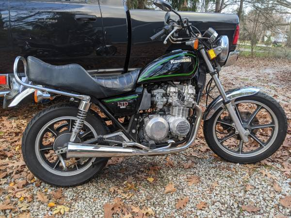 Photo Excellent Condition Vintage Kawasaki KZ 550 LTD Standard Naked - $1,800 (Hudson)