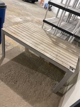 Photo Ikea Picnic Table (Tremont)