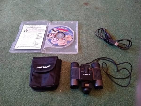 Photo Meade Digital Camera Binoculars - $25 (Cleveland)