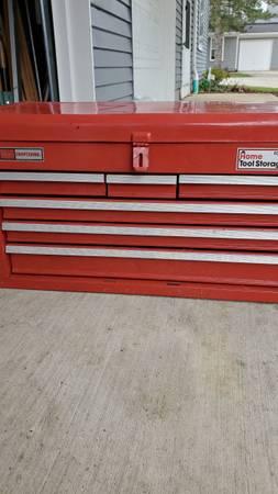 Photo Sears Craftsman home storage tool box - $90 (Northfield)