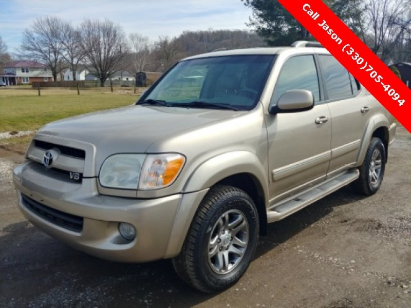 Photo Used 2007 Toyota Sequoia SR5 for sale