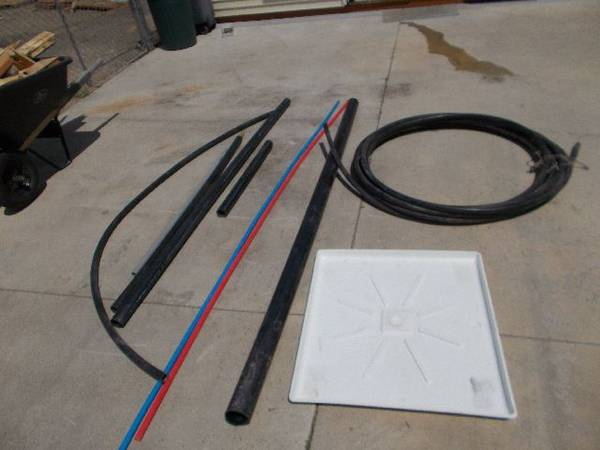 Photo 10039 Roll 1quot Black Polly Water Line And More - $50 (Garden City)