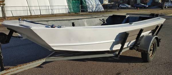 Photo 1439 Midjet Aluminum Jet Boat Great Shape Fresh Paint - $3,800 (Boise)