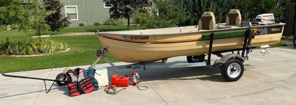 Photo 14 Boat, Motor,  Trailer For Sale - $3,200 (Kuna)