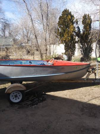 Photo 1956 15ft duracraft aluminum boat - $800