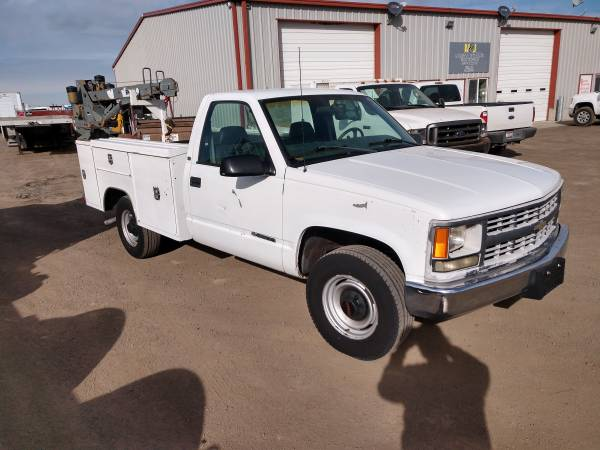 Photo 1998 Chevy 2500 Service Truck 116k Miles - $5,500 (Filer)