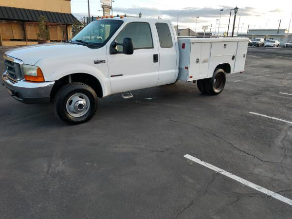 Photo 1999 Ford F-350 Service Truck 4wd 7.3 Diesel 159k Miles - $12500 (Filer)