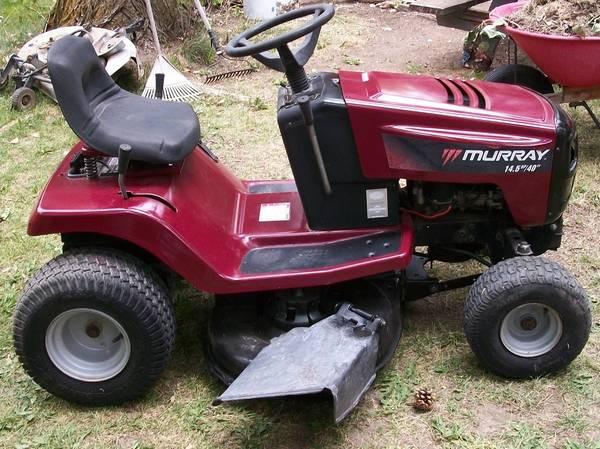 Photo 2002 refurbished Murray Riding Mower - $700 (Albion, ID)