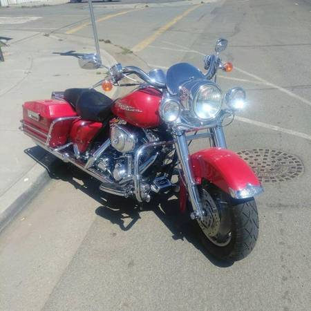 Photo 2004 Harley Davidson Road King FLHPR - $6,800 (Boise)