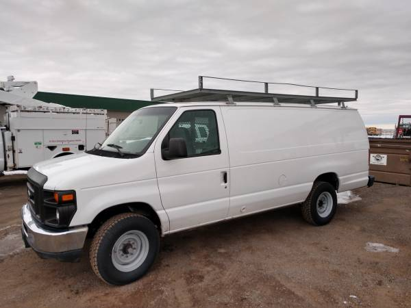 Photo 2008 Ford E-350 Cargo Van 48k Miles - $13500 (Filer)