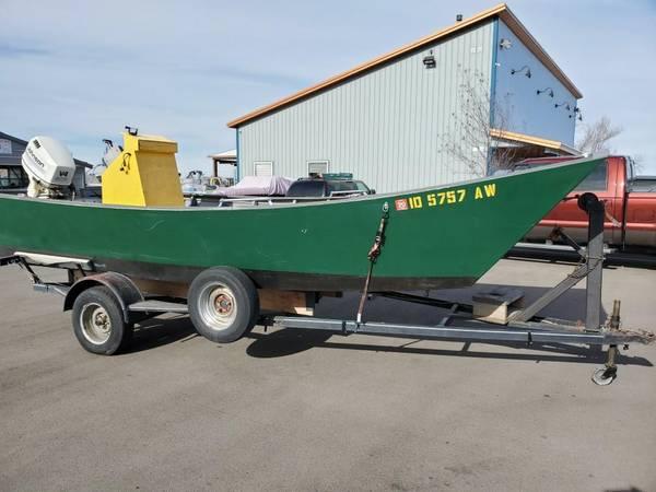 Photo 2016 20ft Jon Boat w130 hp Jet - $5,500 (Meridian)