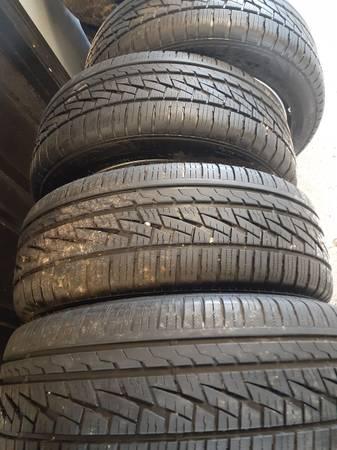 Photo 22555R17 tires - $375 (Twin falls)