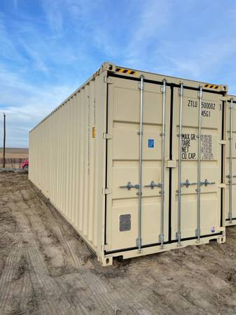 Photo 40HC NEW ONE TRIP CONTAINERS FOR SALE - $6,500 (Twin Falls)