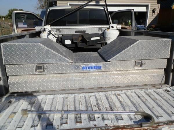 Photo Better Built Aluminum 5th Wheel Pickup tool box - $150 (Wendell)
